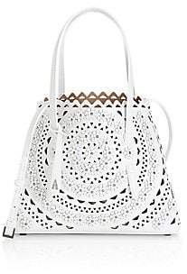 Alaia Women's Small Mina Vienne Leather Tote