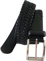 John Deere Leather Braided Belt