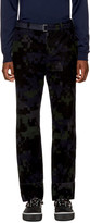 Sacai Black Camouflage Trousers