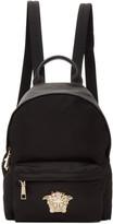 Versace Black Nylon Palazzo Backpack