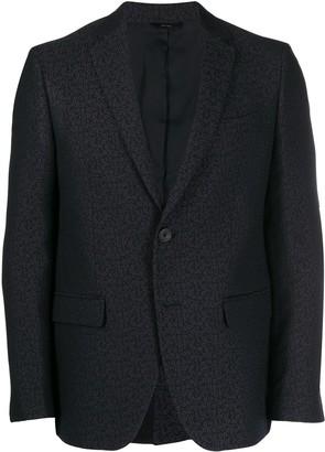 Fendi Jacquard slim-fit jacket