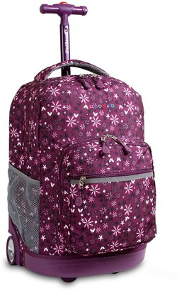 "J World 18"" Sunrise Rolling Backpack -"