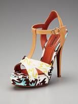 Missoni T-Strap Sandal