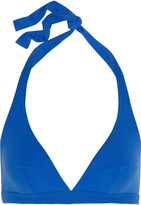 Eres Co2 Halterneck Triangle Bikini Top - Azure