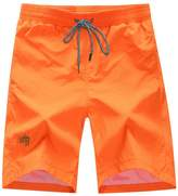 Deercon Men's Quick-Dry Swimwear Shorts Sports Beach Boardshorts(7 colors M-3)