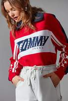 Tommy Jeans Half-Zip Polo Racing Sweatshirt