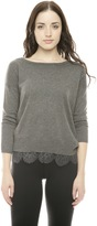 Joie Hilano Lace Sweater