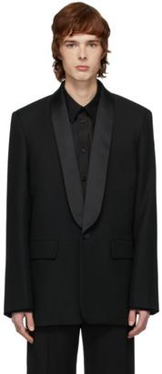 Balenciaga Black Seamless Tuxedo Blazer