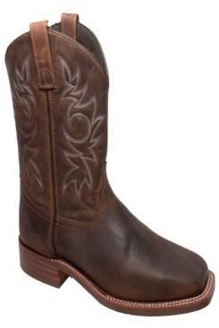 "AdTec Men's 11"" Western Square Toe Boot Men's Shoes"