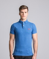 Superdry Grindle Short Sleeve Pique Polo Shirt
