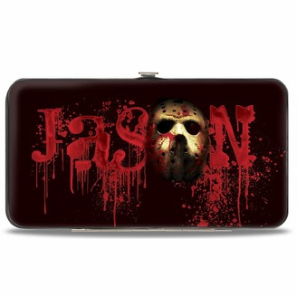 "Buckle Down Buckle-Down Women's Standard Hinge Wallet-Friday The 13th Jason 7"" x 4"""