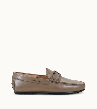 Tod's City Gommino Timeless Driving Shoes in Leather