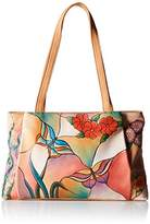 Anuschka Handpainted Leather BGP Large Shopper