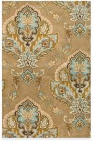 Volare Rizzy Home Jasmine 2-Foot 6-Inch x 7-Foot 6-Inch Latte Wool Rug