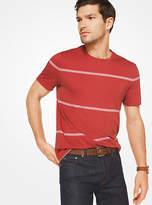 Michael Kors Striped Cotton T-Shirt