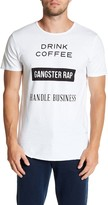 Kinetix Coffee Rap Crew Neck Tee
