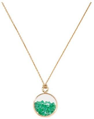 Aurelie Bidermann Chivor emerald Baby Medallion