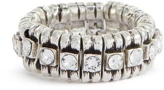 Philippe Audibert 'New Broome' swarovski crystal bead ring