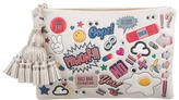 Anya Hindmarch Georgiana All Over Sticker Clutch