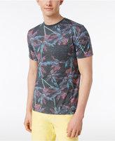Univibe Men's Dazed Palm-Print Cotton T-Shirt