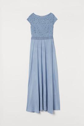 H&M Lace-detail maxi dress