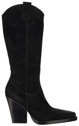 Paris Texas Western High Boots