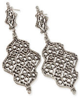 Kendra Scott Renee Hourglass Statement Earrings