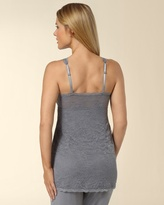 Soma Intimates Embraceable Cool Nights Enduring Lace Overlay Cami