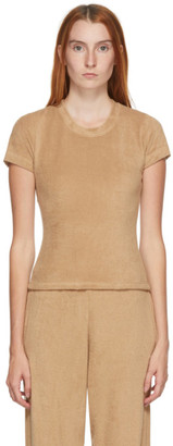 Gil Rodriguez SSENSE Exclusive Tan Corsica Terry T-Shirt