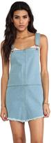 Casablanca Denim Overall Dress