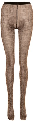 Fendi Metallic tights