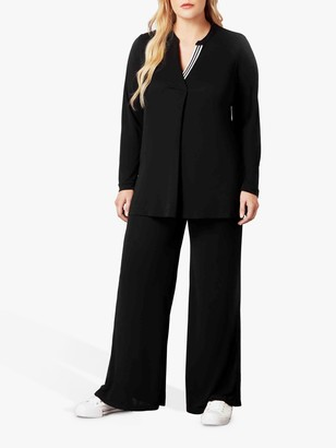 Live Unlimited Curve Wide Leg Trousers, Black