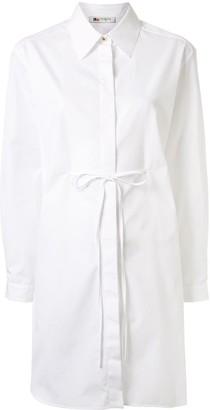 Ports 1961 Tie-Fastening Mini Shirt Dress