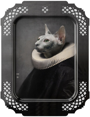 Ibride Galerie De Portraits - Rectangular The Cat Tray