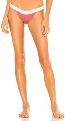 Tori Praver Swimwear Dylan Smocked Bikini Bottom