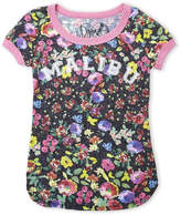 Dirtee Hollywood Girls 7-16) Malibu Floral Tee