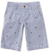 Brooks Brothers Little/Big Boys 4-20 Palm Embroidered Seersucker Short