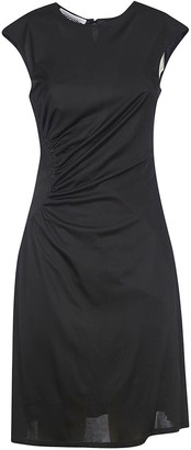 Moschino Gathered Sleeveless Dress