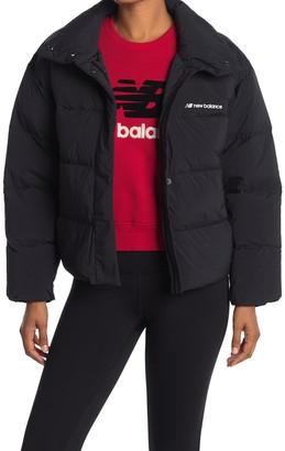 New Balance Select Cropped Heat Down Jacket