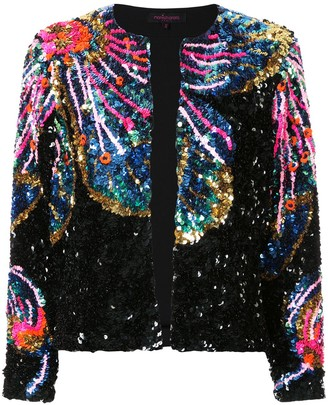 Manish Arora Lower Pattern Sequin Jacket