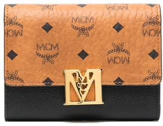 MCM Mena foldover wallet