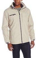 Izod Men's Ripstop Midweight Jacket with Polar Fleece Lining