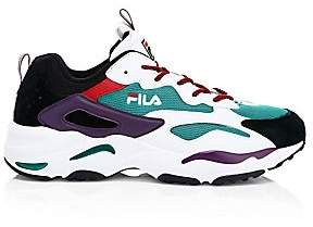 Fila Men's Ray Tracer Mixed Media Sneakers