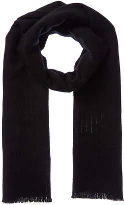 Amicale Cashmere Texture Weave Cashmere Scarf
