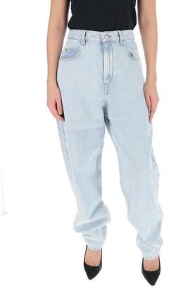 Etoile Isabel Marant Corsysr High Rise Boyfriend Jeans