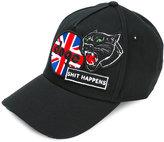DSQUARED2 patch detail baseball cap - men - Cotton - One Size