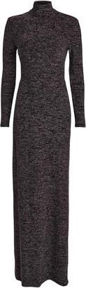 Fame & Partners Kareela Open Back Lurex Knit Dress