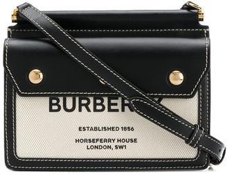 Burberry Baby Title Pocket crossbody bag