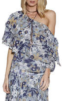 Ministry of Style Wildflower Off The Shoulder Top