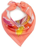 Echo Women's Floral Cotton Scarf